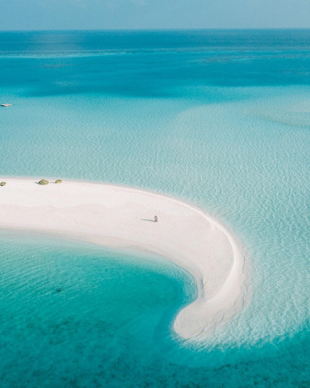 Sandbank in the Maldives