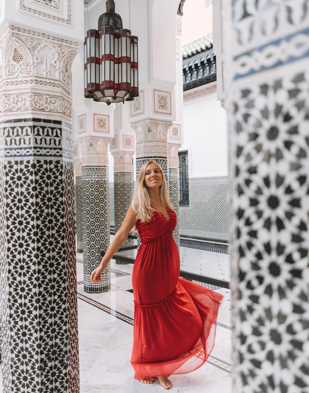 Our experience in Marrakech La Momounia