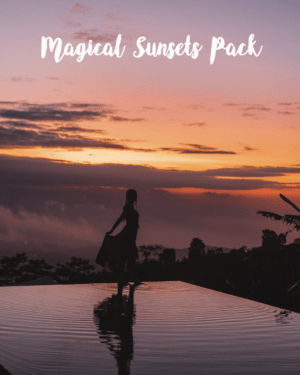 Sunsets and sunrises preset pack Chiara Barrasso