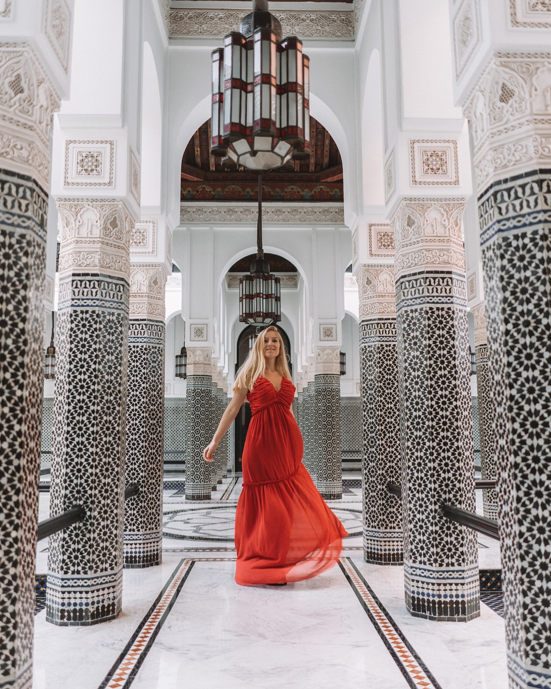 Mamounia best places to visit in Marrakech