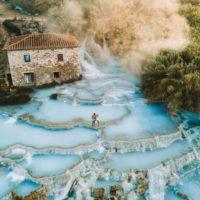 The magical cascade di Saturnia