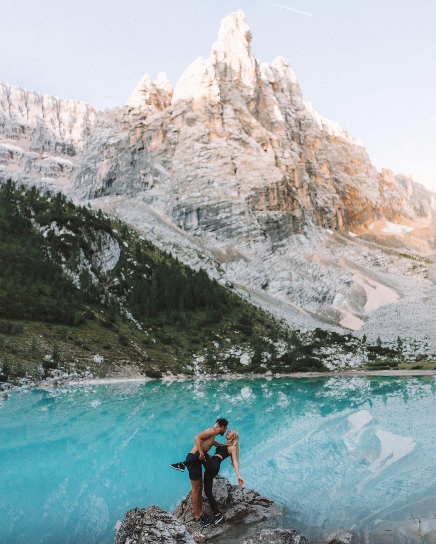 Lago di Sorapis Dolomites