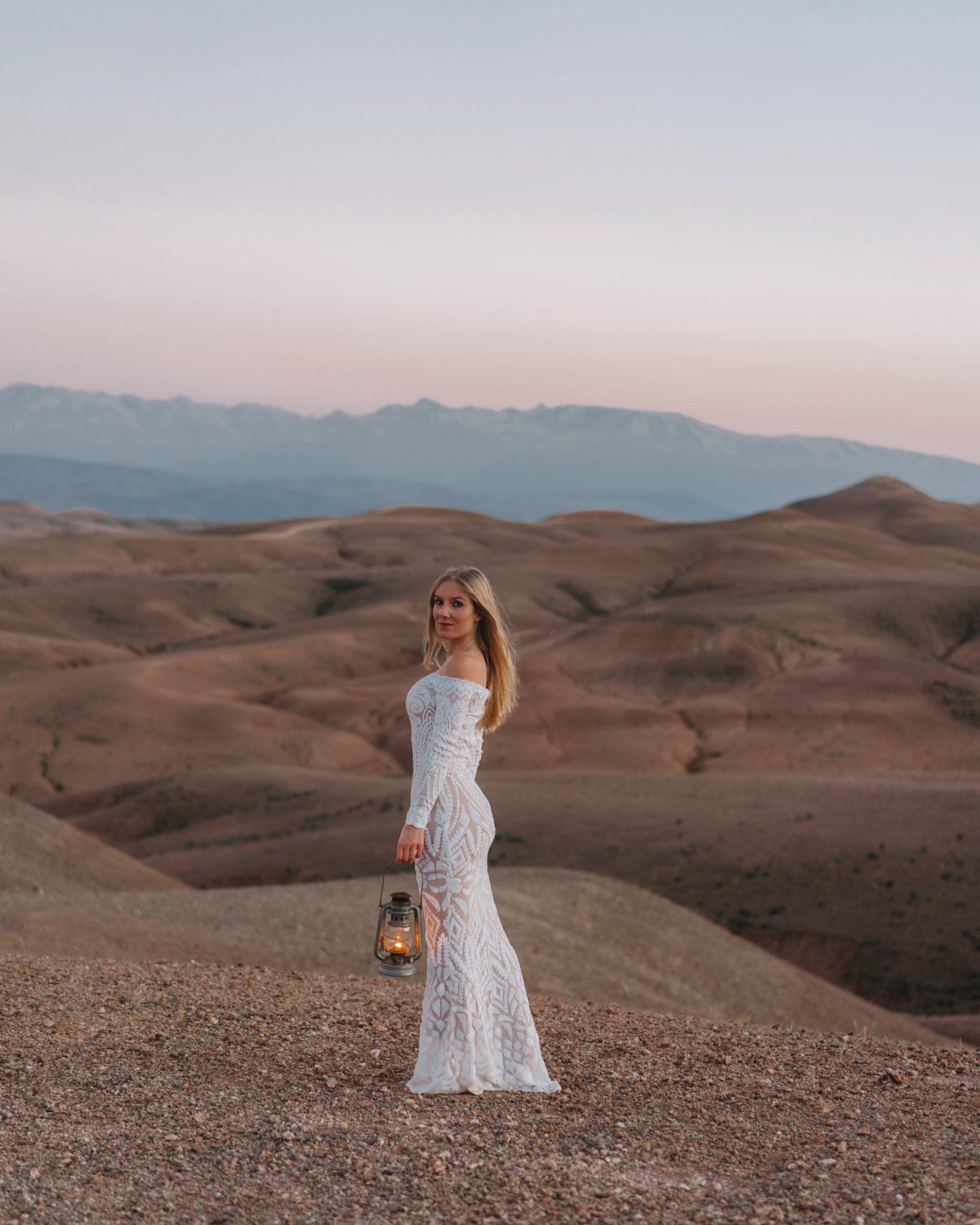 Morocco, Agafay desert