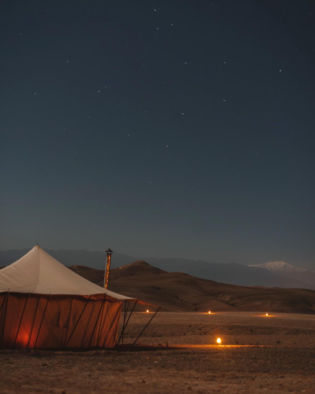 Apprendre la photo de paysage de nuit au Maroc