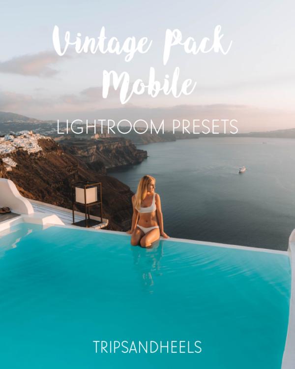 Shop our lightroom mobile presets vintage pack
