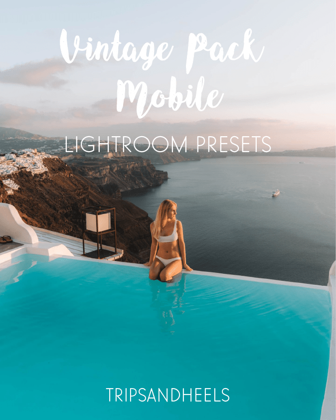 Shop our lightroom mobile presets vintage pack
