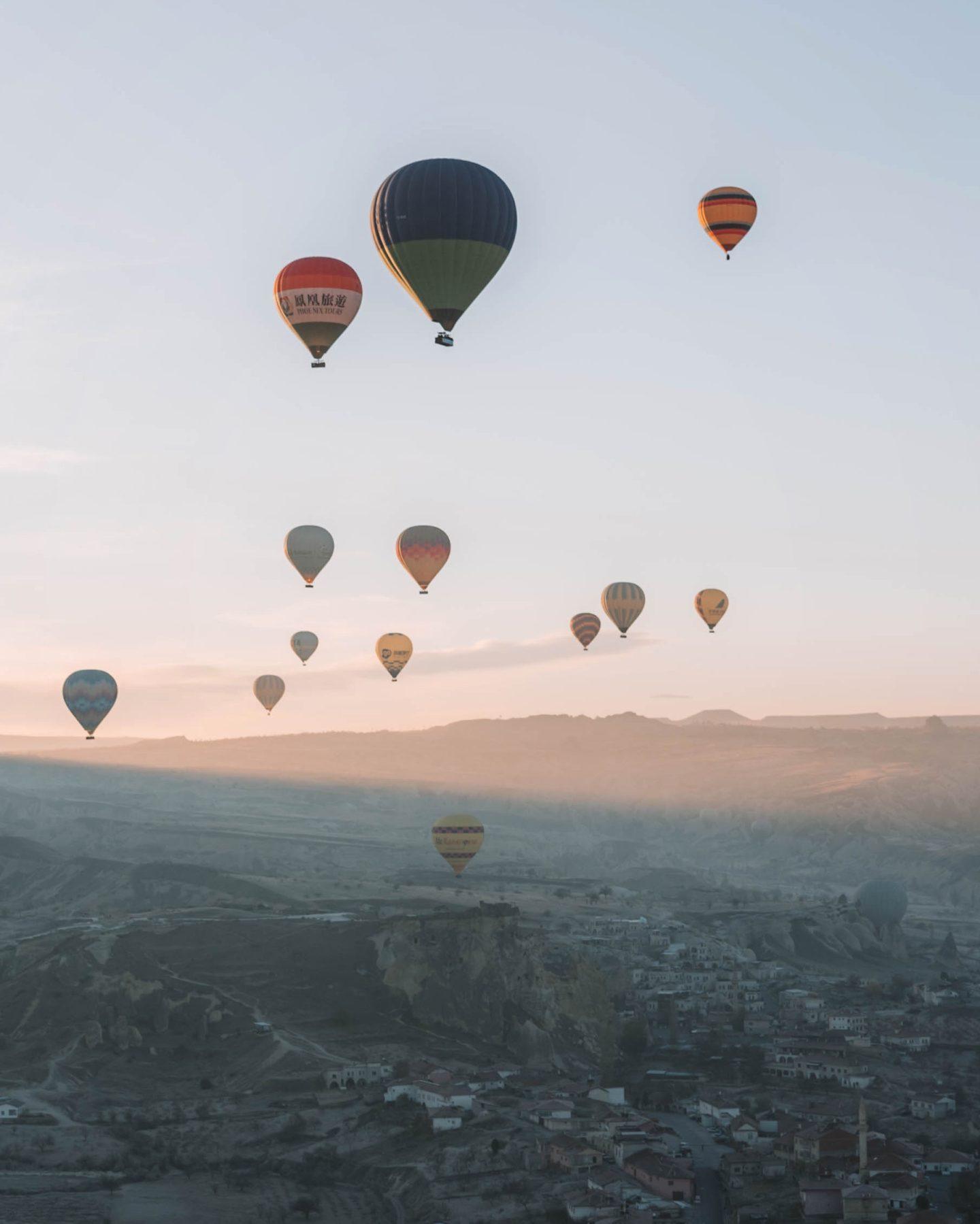 Idées de voyage en Turquie Cappadoce