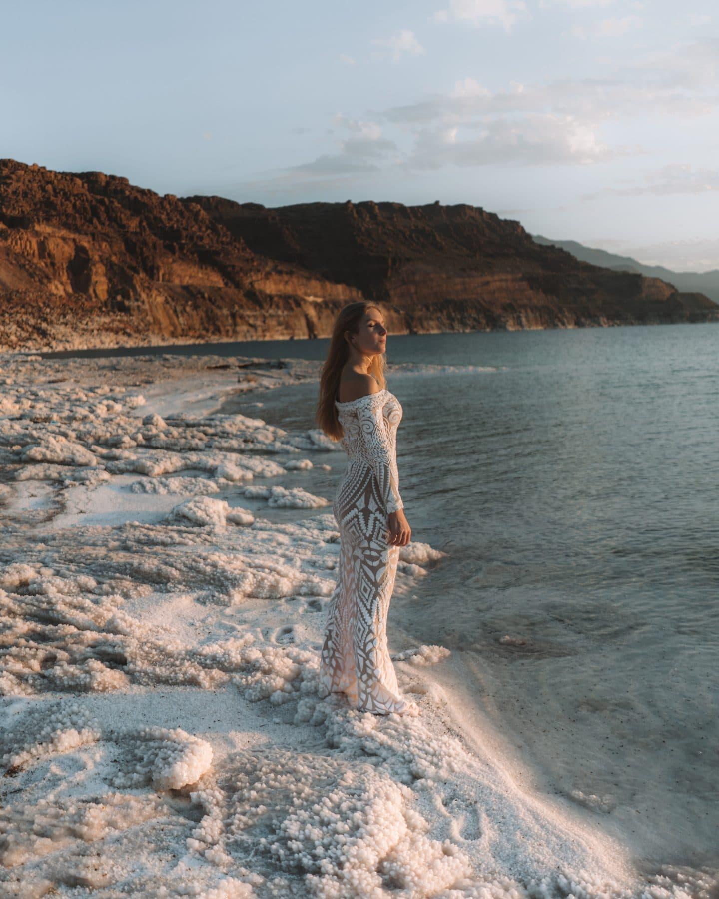 La mer morter en Jordanie