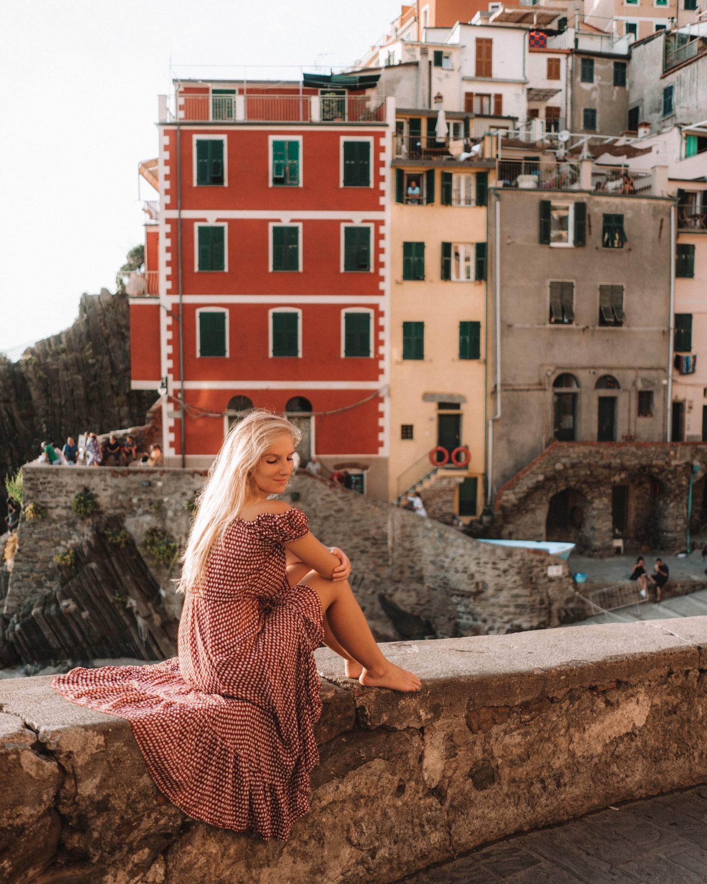 Cinq Terre Riomaggiore Italie